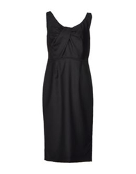 Valentino Roma Knee Length Dresses Black