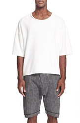 Men's Chapter Oversize Slub Cotton T Shirt