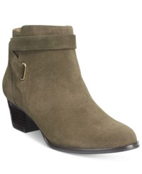Giani Bernini Oleesia Booties Only At Macy's Women's Shoes Army