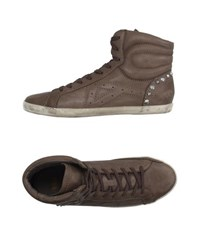 Ash Footwear High Tops And Trainers Men Khaki