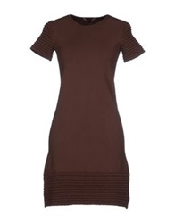 Vicedomini Short Dresses Cocoa
