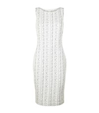 St. John Anva Boucle Dress Female Ivory