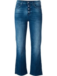 7 For All Mankind Flare Jeans Blue
