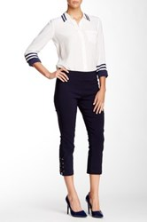 Insight Techno Lace Up Cropped Pant Blue
