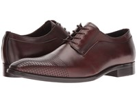 Kenneth Cole Course Of Action Brown Men's Lace Up Cap Toe Shoes