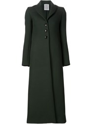 Rosie Assoulin Oversize Single Breasted Coat Green
