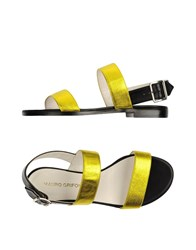 Mauro Grifoni Footwear Sandals Women Yellow