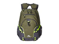 High Sierra Loop Backpack Moss Mercury Zest Backpack Bags Olive