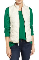 Vineyard Vines Women's 'Whale Tail' Zigzag Quilted Vest