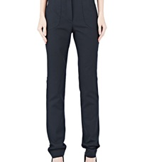 Capara Slim Fit Pants 10 Black