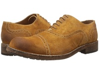 Messico Guatavo Honey Vintage Suede Men's Dress Flat Shoes Brown