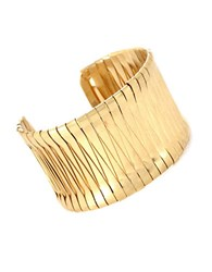 Kenneth Cole Goldtone Woven Cuff Bracelet