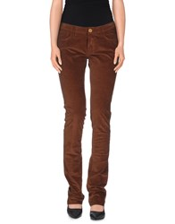 Trussardi Jeans Trousers Casual Trousers Women Brown