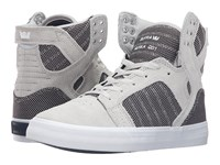 Supra Skytop Grey Violet Two Tone White Women's Skate Shoes
