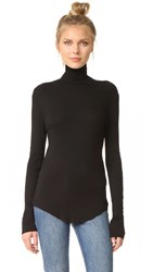 Cotton Citizen The Melbourne Turtleneck Jet Black