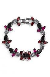 Women's Marchesa 'Poppy' Jeweled Bracelet