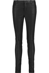 Halston Faux Leather Skinny Pants