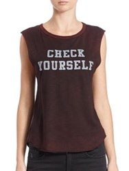 Feel The Piece Check Yourself Cut Off Muscle Tee