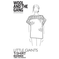 Wool And The Gang Little Giants T Shirt Knitting Pattern