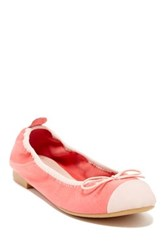 Restricted Come Over Two Tone Ballet Flat Pink