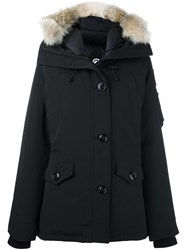 Canada Goose Fur Hooded Parka Black