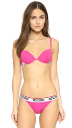 Moschino Push Up Bra Fuchsia