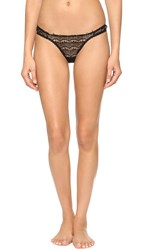 Mimi Holliday Bisou Bisou Sugar Thong Black