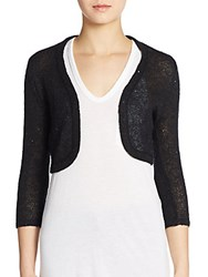 Harrison Morgan Sequin Bolero Black