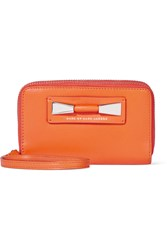 Marc By Marc Jacobs Gemini Leather Wallet Orange