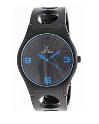 Toywatch Cuff Only Time Stainless Steel Watch Black