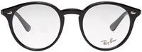 Ray Ban Black Round Optical Glasses