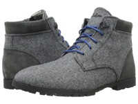 Woolrich Beebe Wool Ash Wool Suede Men's Boots Gray
