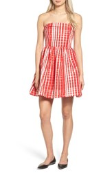 Vineyard Vines Women's Gingham Fit And Flare Dress