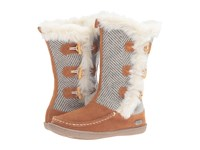 Woolrich Elk Creek Herringbone Wool Women's Boots Brown