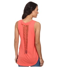 Vans Shaded And Braided Tunic Tank Top Dubarry Women's Sleeveless Pink