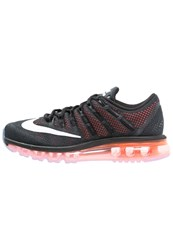 Nike Performance Air Max 2016 Cushioned Running Shoes Noir Rouge Black