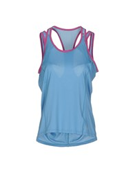 Lija Topwear Vests Women Pastel Blue