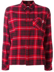 Carhartt Checked Shirt Red
