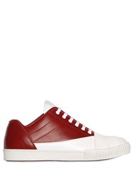 Marni Front Band Leather Sneakers