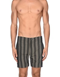 Fendi Swimwear Beach Trousers Men Grey