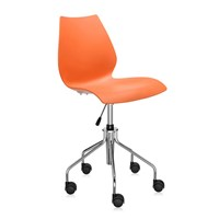Kartell Maui Swivel Chair Orange