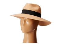 Michael Stars Downtown Wide Brim Fedora Sahara Fedora Hats Orange