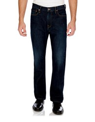Lucky Brand Relaxed Straight Jeans Blue