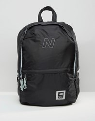 New Balance 410 Backpack In Black Black