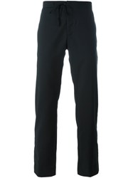Maison Martin Margiela Straight Leg Trousers Black