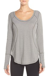Women's Zella 'Cover Me' Scooped Neck Pullover