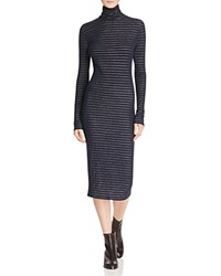Rag And Bone Jean Keaton Stripe Dress Navy Grey