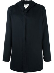 Stephan Schneider Hooded Jacket Blue