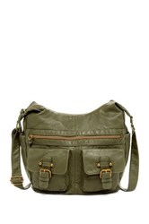 T Shirt And Jeans Washed Scoop Hobo Green