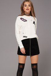 Forever 21 Tiger Patch Sweatshirt